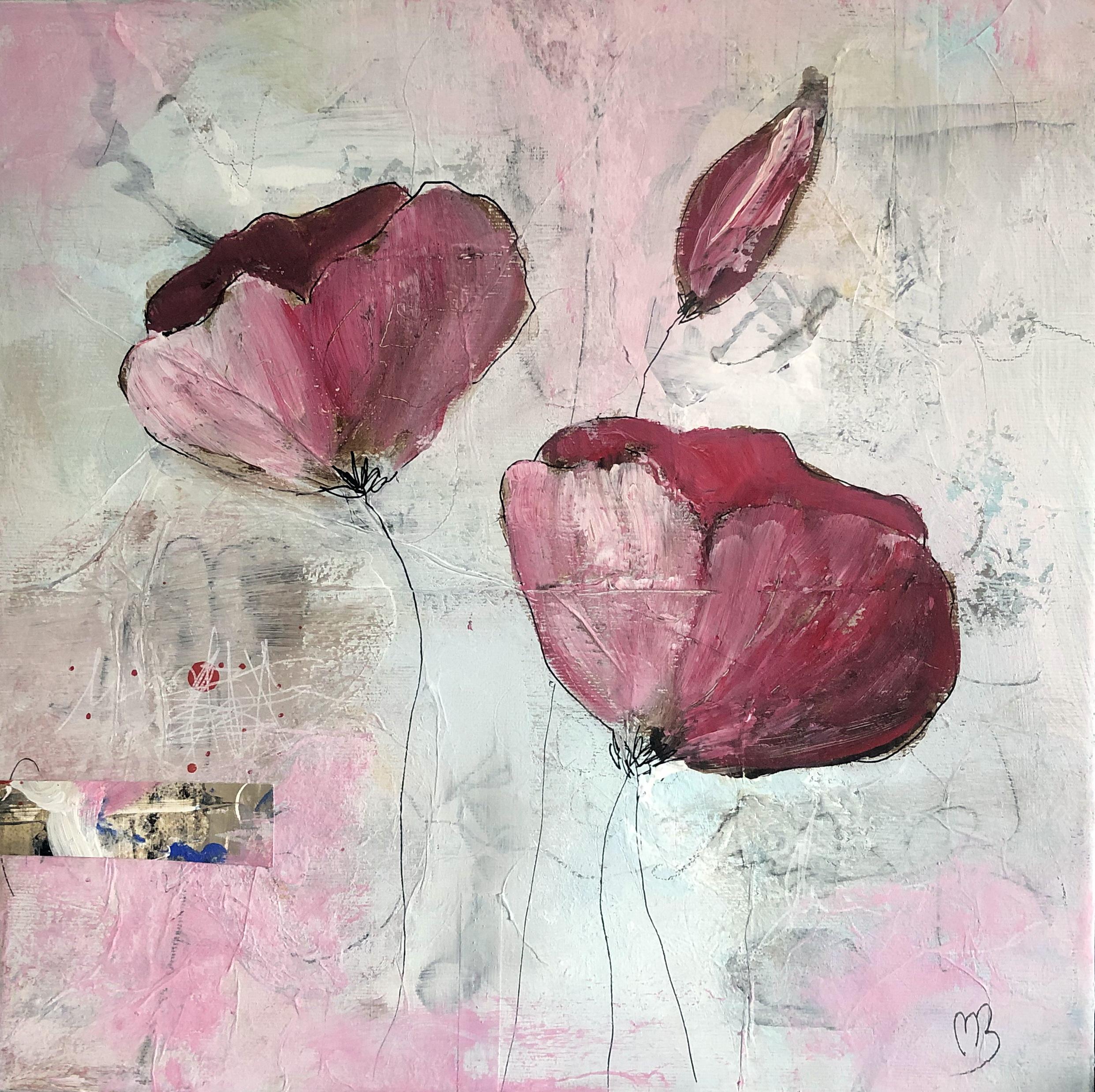Akrylmaleri 40x40 cm