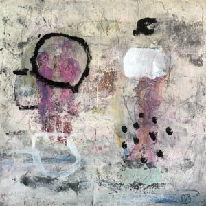 Abstrakt akrylmaleri